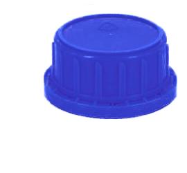 blau Deckel