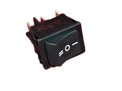Kippschalter breit I-0-II Pol